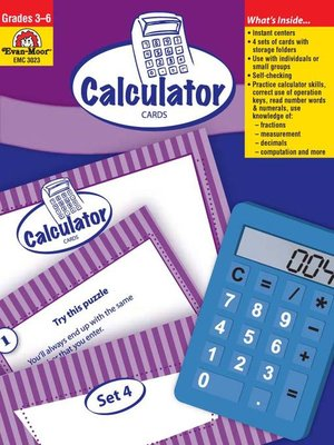 cover image of Calculator Cards