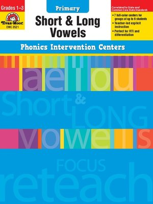 cover image of Short and Long Vowels
