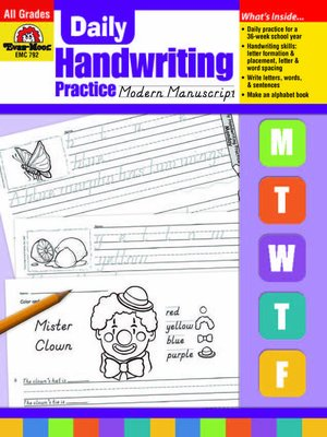 cover image of Modern Manuscript