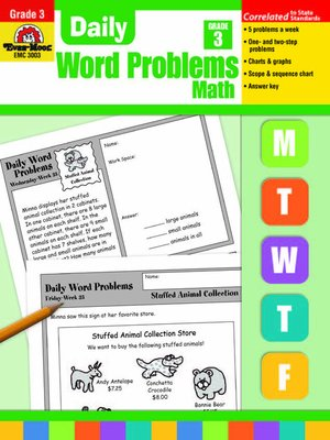cover image of Daily Word Problems