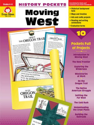 cover image of Moving West, Grades 4-6