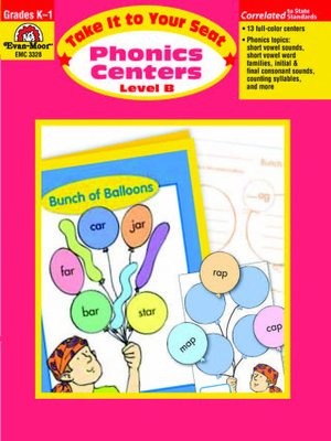 cover image of Phonics Centers