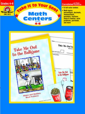 cover image of Take It to Your Seat, Math Centers,