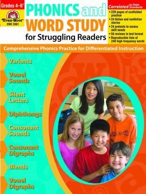 cover image of Phonics and Word Study for Struggling Readers