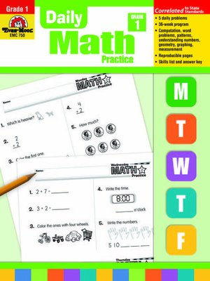 cover image of Daily Math Practice