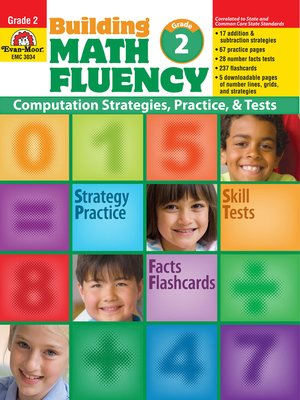 cover image of Building Math Fluency, Grade 2