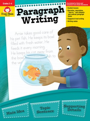 cover image of Paragraph Writing, Grades 2-4