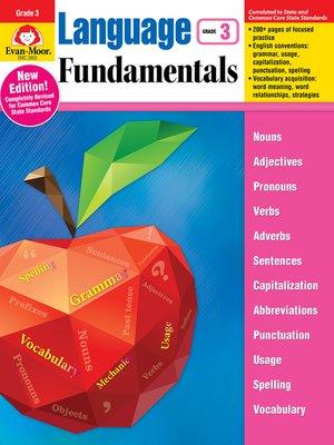 cover image of Language Fundamentals, Grade 3