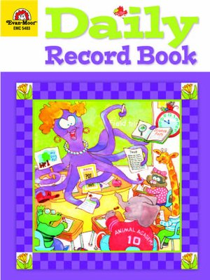 cover image of Daily Record Book
