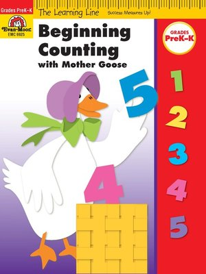 cover image of Beginning Counting with Mother Goose