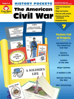 cover image of The American Civil War, Grades 4-6+