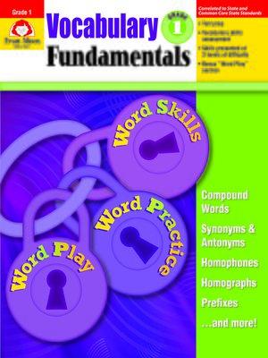 cover image of Vocabulary Fundamentals, Grade 1