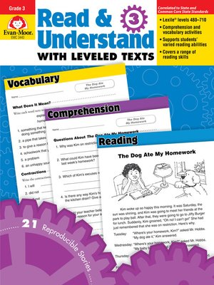 cover image of Read and Understand with Leveled Texts, Grade 3