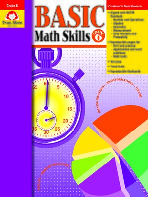 cover image of Basic Math Skills, Grade 6
