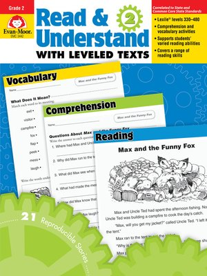 cover image of Read and Understand with Leveled Texts, Grade 2
