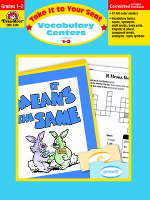 cover image of Vocabulary Centers