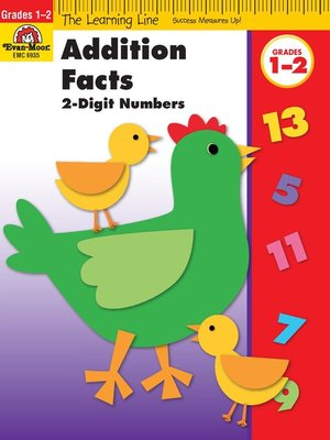 cover image of Addition Facts, 2 Digit Numbers