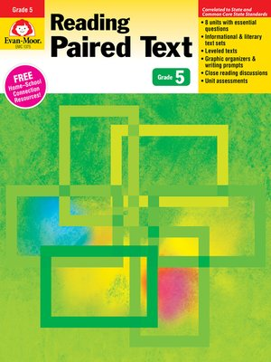 cover image of Reading Paired Text, Grade 5
