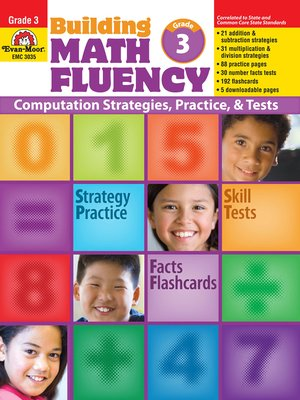 cover image of Building Math Fluency, Grade 3