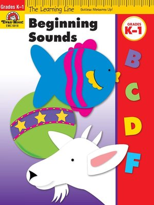 cover image of Beginning Sounds
