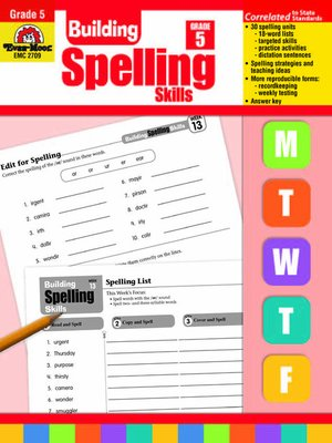 cover image of Building Spelling Skills Daily Practice