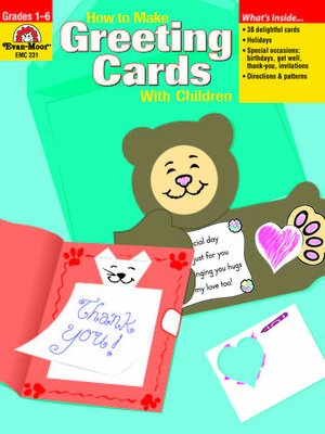 cover image of How to Make Greeting Cards with Children