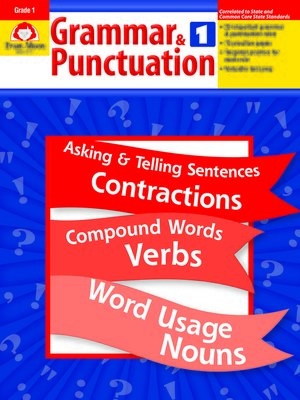 cover image of Grammar & Punctuation, Grade 1