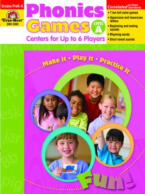 cover image of Phonics Games