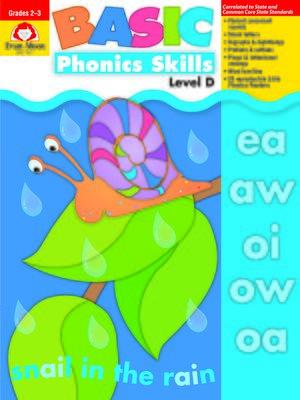 cover image of Basic Phonics Skills, Grades 2-3 (Level D)