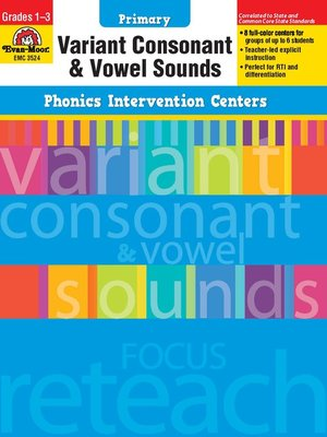 cover image of Variant Consonant and Vowel Sounds