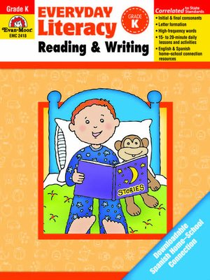 Everyday Literacy: Reading and Writing by Evan-Moor