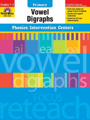 cover image of Vowel Digraphs
