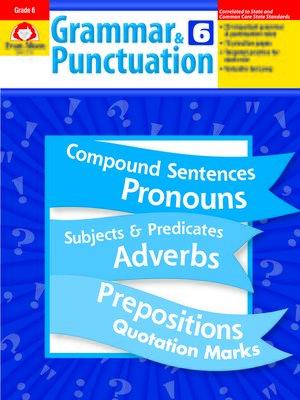 cover image of Grammar & Punctuation, Grade 6+