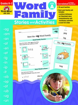 cover image of Word Family Stories and Activities