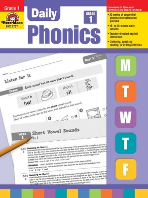 cover image of Daily Phonics,