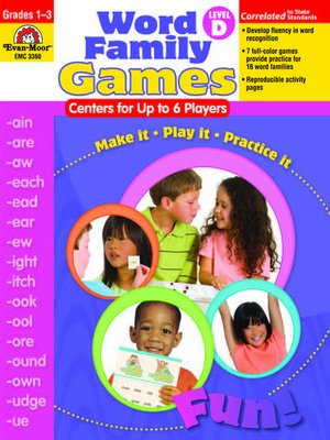 cover image of Word Family Games