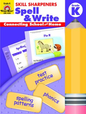 cover image of Skill Sharpeners Spell & Write
