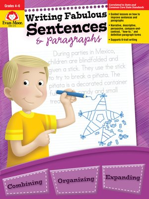 cover image of Writing Fabulous Sentences and Paragraphs