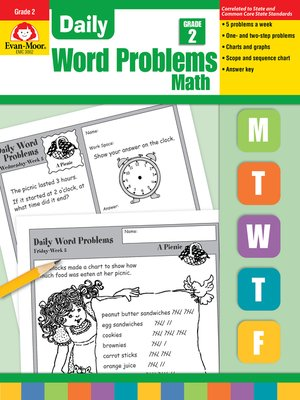 cover image of Daily Word Problems, Grade 2