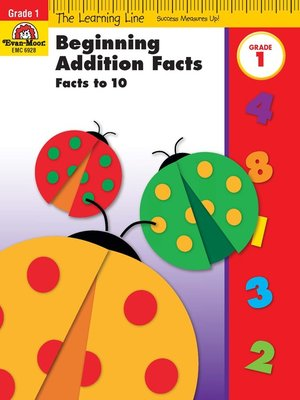 cover image of Beginning Addition, Facts to 10