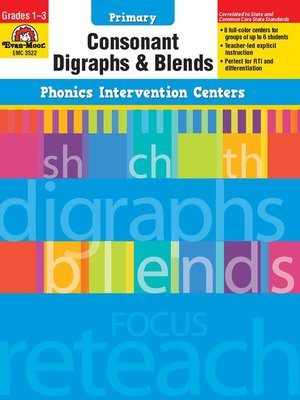 cover image of Consonant Digraphs and Blend