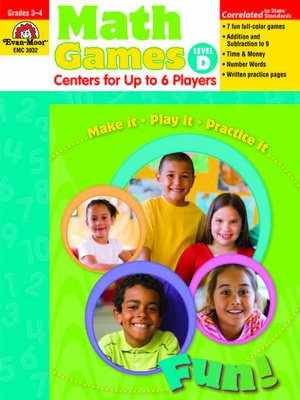 cover image of Math Games