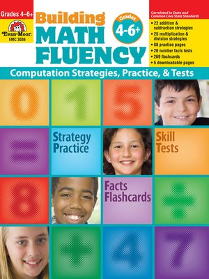 cover image of Building Math Fluency, Grades 4-6+