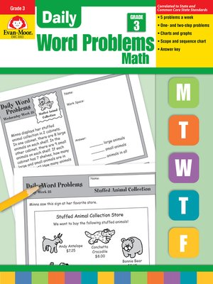 cover image of Daily Word Problems, Grade 3