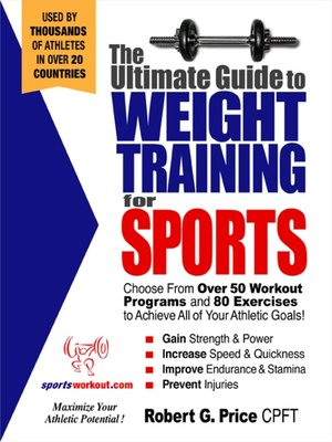 cover image of The Ultimate Guide to Weight Training for Sports