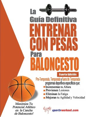 cover image of La guía definitiva - Entrenar con pesas para baloncesto