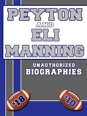 cover image of Peyton and Eli Manning