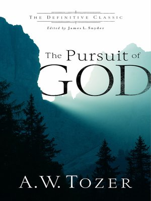 cover image of The Pursuit of God (The Definitive Classic)
