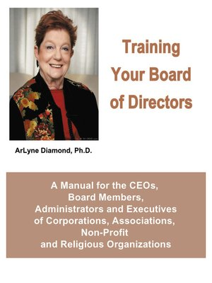cover image of Training Your Board of Directors