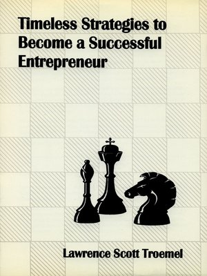 cover image of Timeless Strategies to Become a Successful Entrepreneur